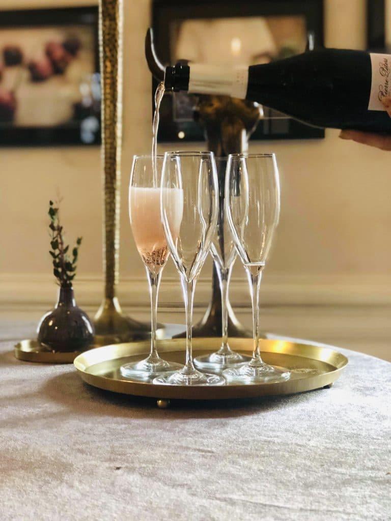 Vinprovning på Herrgården för våra konferensgäster